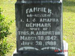 Fannie R. <i>Denmark</i> Arrington