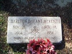 Charlton Durant McKenzie