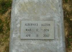 Albernice Alston