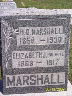 Elizabeth Jane <i>Fleming</i> Marshall