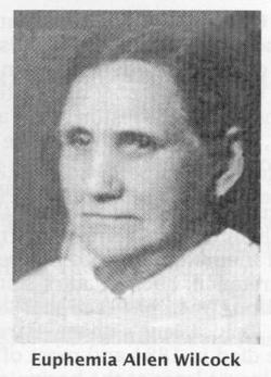 Lydia Euphemia <i>Allen</i> Wilcock