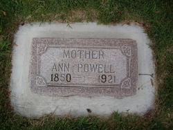 Ann <i>Powell</i> Peterson