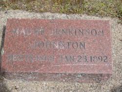Maude Lydia <i>Jenkinson</i> Johnston