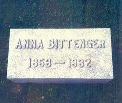 Anna <i>Brenneman</i> Bittenger