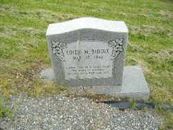 Edith M. Biddix