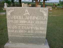 Mary E <i>Trapp</i> Arrington
