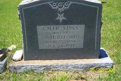 Callie <i>Vines</i> Byford