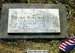 Alma Hyrum Allen, I