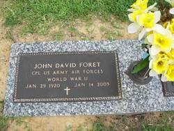 John D. J.D. Paw Paw Foret