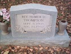 Rev. Homer O Thompson