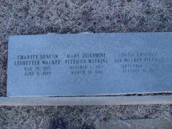 Mary Josephine <i>Pittman</i> Watkins