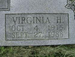 Virginia <i>Heuring</i> Hitt