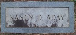 Nancy Didie <i>Gandy</i> Aday