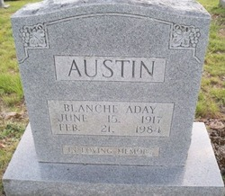 Blanche Willa <i>Aday</i> Austin