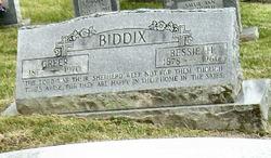 Bessie Matilda <i>Hollifield</i> Biddix