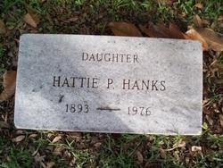 Harriett Pender Hattie Hanks