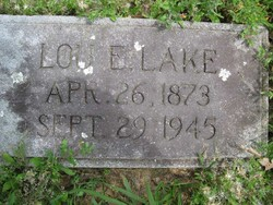 Louisa Elizabeth Lou <i>Williamson</i> Lake