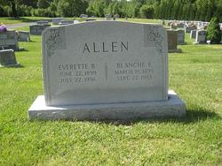 Blanche Elizabeth <i>Allen</i> Allen