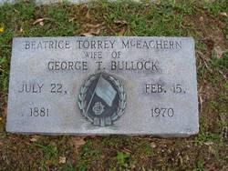 Beatrice Torrey <i>McEachern</i> Bullock