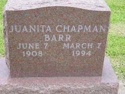 Juanita <i>Chapman</i> Barr