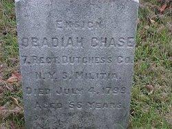 Ens Obadiah Chase
