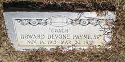 Howard Devone Payne, Sr