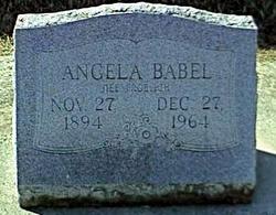 Angela <i>Froelich</i> Babel