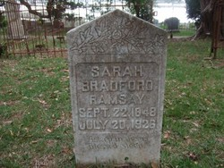 Sarah <i>Bradford</i> Ramsay