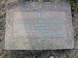 Arthur D Bilderback