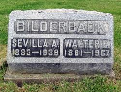 Walter E Bilderback