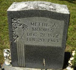 Mettie A Moores
