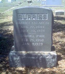 Samuel Paul Burriss