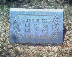Samuel Paul Burriss, Jr