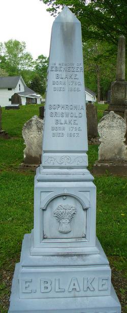 Sophronia <i>Griswold</i> Blake