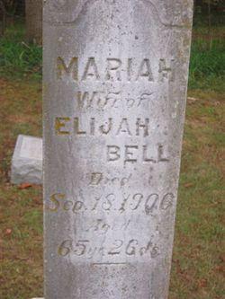 Mariah <i>Musgrove</i> Bell