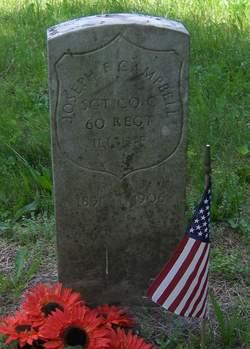 Sgt Joseph Franklin Campbell