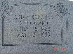 Addie <i>Bohanan</i> Strickland