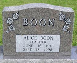Alice Boon