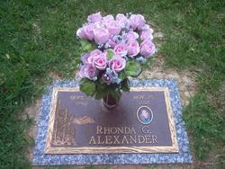 Rhonda Gayle <i>Braddy</i> Alexander