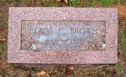 Jessie Realus Brown