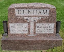 Harriett Lucile <i>Taylor</i> Dunham