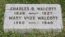 Mary Morris <i>Vaux</i> Walcott