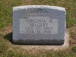 Virginia B <i>Matthews</i> Hilgert