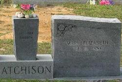 Mary Elizabeth <i>Jordan</i> Atchison