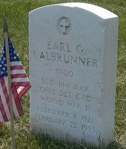 Earl G Kalbrunner