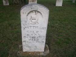 Mattie <i>Barkwell</i> Giles