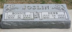 Bonnie C <i>Lang</i> Joslin