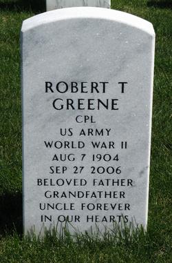 Corp Robert Greene