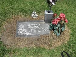 Jeannie Ann Marie <i>Gardner</i> McBroom