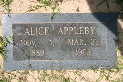 Alice Sarah <i>Hancock</i> Appleby